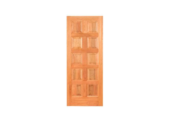 10 PANEL HARDWOOD DOOR
