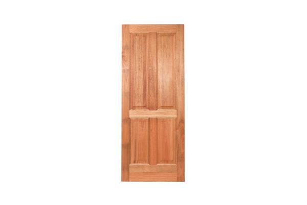 4 PANEL HARDWOOD DOOR