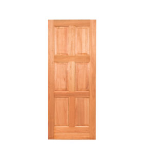 6 PANEL EQUAL HARDWOOD DOOR