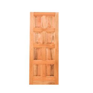 8 PANEL HARDWOOD DOOR