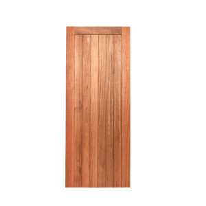 FLB BRACED BACK MERANTI DOOR