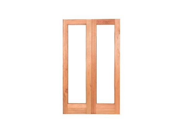 G1 PAIR FULL GLASS DOORS