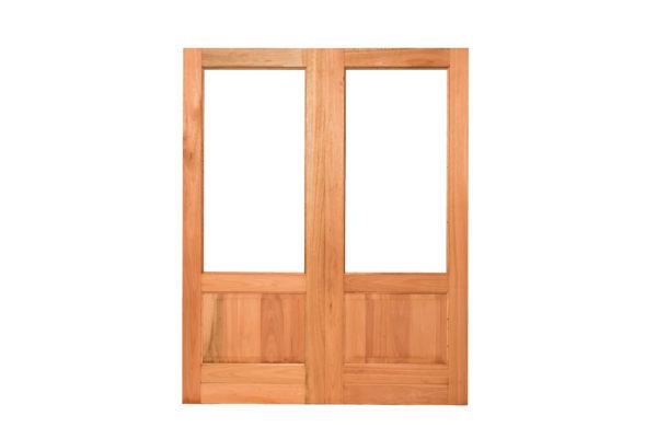 PAIR OPEN PANE HAPPY DOORS 1610X2032