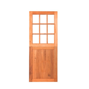 9 GLASS FLB PLY BACK STABLE DOOR 813X2032