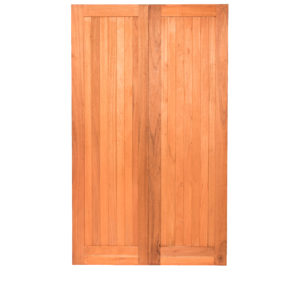 PAIR FLB PLY BACK MERANTI DOORS 1210X2032
