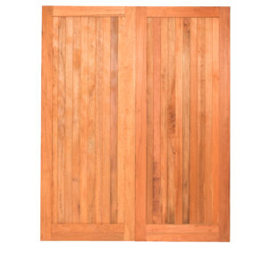 PAIR FLB PLY BACK MERANTI DOORS