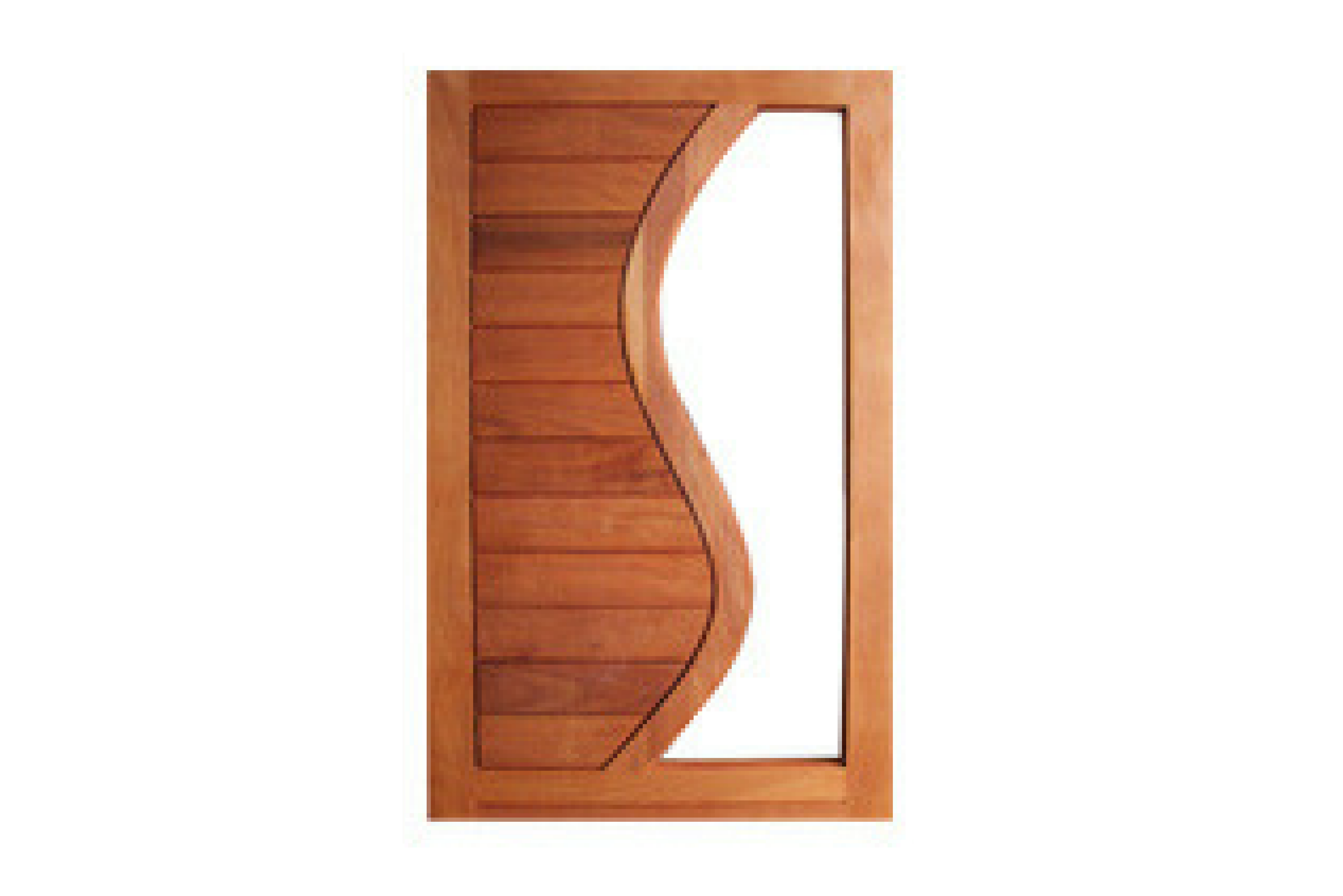 Horizontal S door  sc 1 st  Mega Doors & Horizontal S Pivot Door | Exterior Doors | Mega Doors Windows u0026 Gates